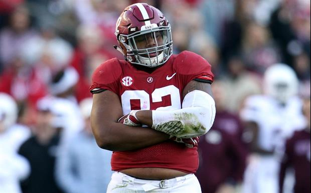 68a1eb34 Alabama Star DT Quinnen Williams Starts To Rip Into Kyler Murray And ...
