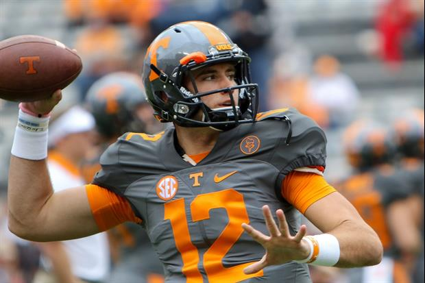 Tennessee QB Quinten Dormady Got Engaged To His Hottie ...