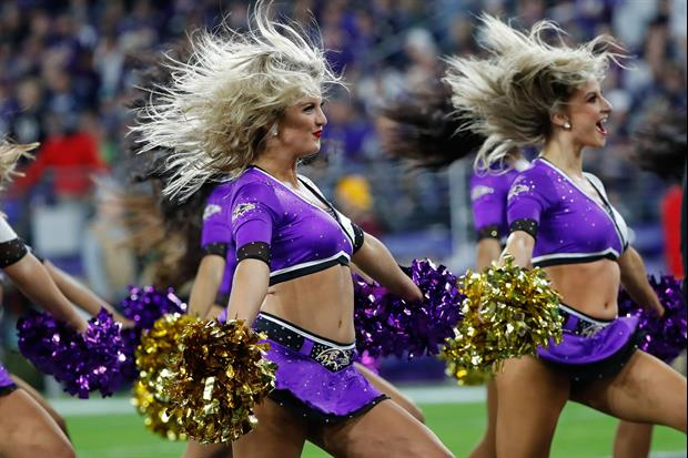 Former Baltimore Ravens cheerleader turned swimsuit model, Summer Wilson, is featured in the Sports