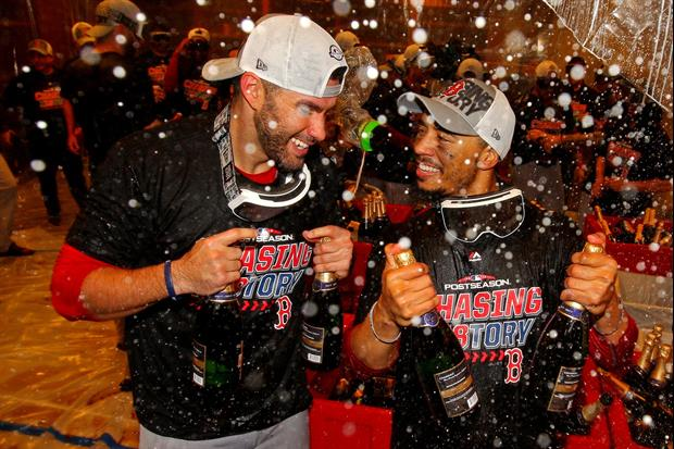 MLB Is Banning Champagne & Beer Celebrations From The Postseason This Year