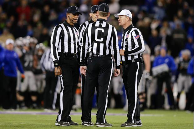 Here's What Conference Is Officiating The National Title Game