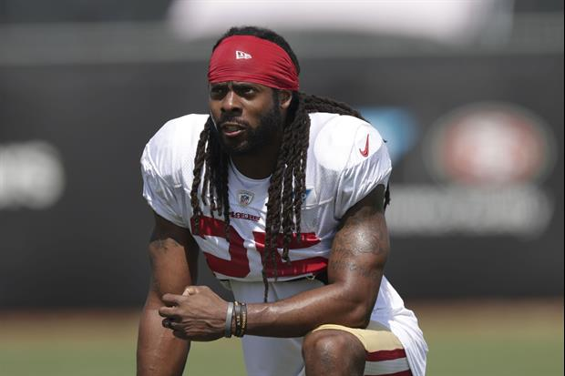 Richard Sherman Issues Statement After Being Charged With Burglary Domestic Violence