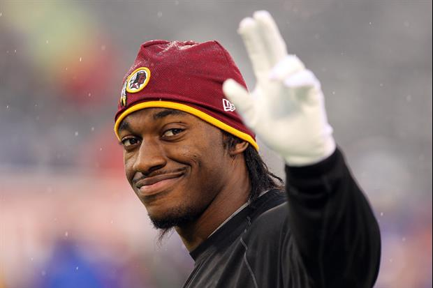 After RG3 Cleaned Out His Locker, He Left A Dramatic Note