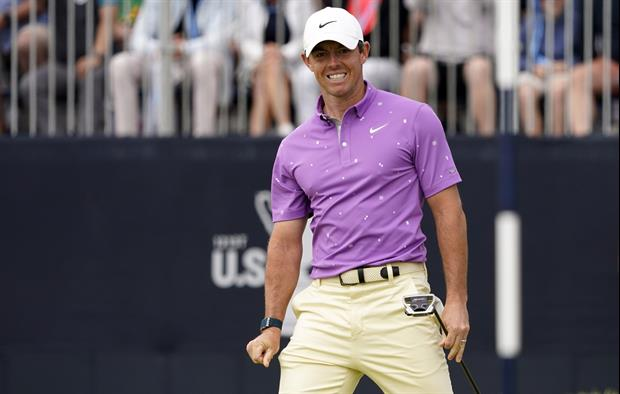 Watch Fan Just Walk Up And Take Rory McIlroy's Club During Tournament, Gets Ejected