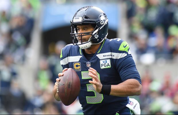 Seahawks QB Russell Wilson Gifted His Offensive Line $12K In Amazon Stock