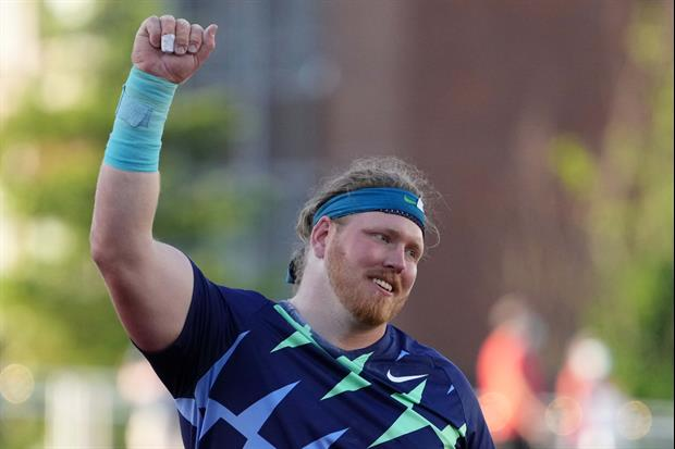 American Shot Putter Destroys World Record At U.S. Olympic Trials