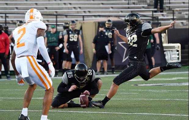 Vanderbilt kicker Sarah Fuller made history on Saturday when she became the first woman to score in