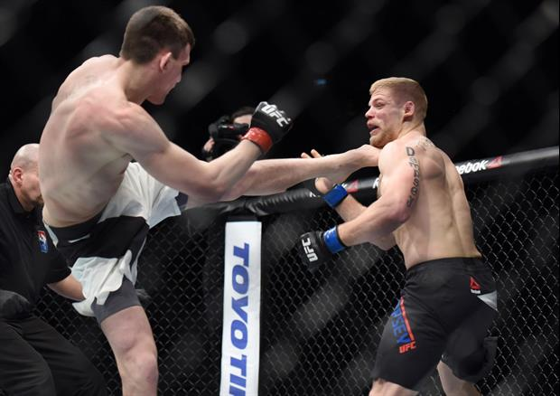 Foot Meets Head In Brutal Walk-Off Knock Out In UFC London