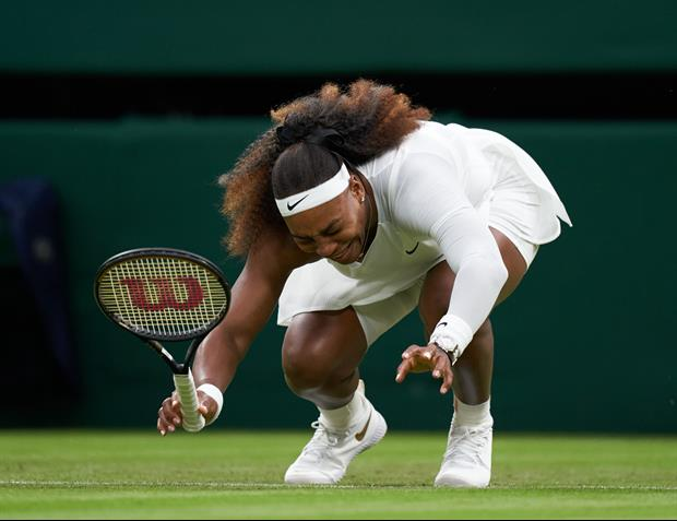 Serena Williams Forced To Retire In The 1st Round Of Wimbledon After, Receives Standing Ovation