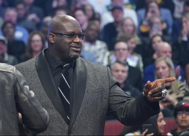 Shaquille O'Neal Was Just Out Shopping And Bought This Dude His Engagement Ring