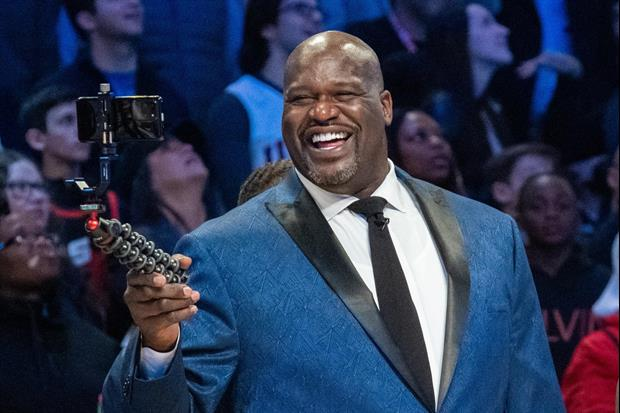 Shaquille O'Neal made his pro wrestling debut last night with a tag-team match in All Elite Wrestlin