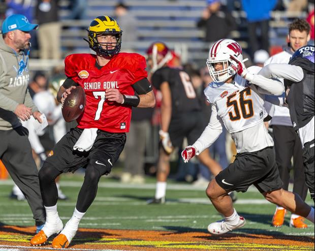 Senior Bowl Practice Day 2 For Michigan QB Shea Patterson Got Worse