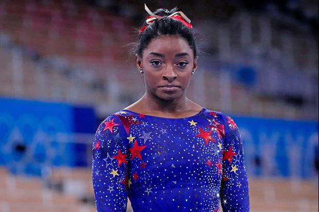 Star Gymnast Simone Biles Withdrew From Team Competition At The Summer Olympics