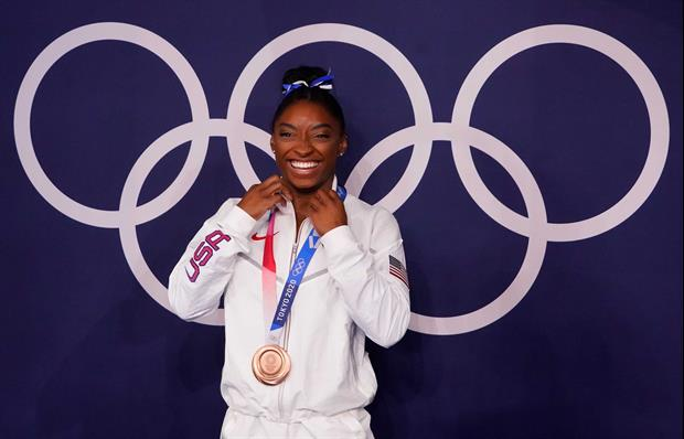Simone Biles Suffers Gnarly Finger Wound After German Shepherd Attack
