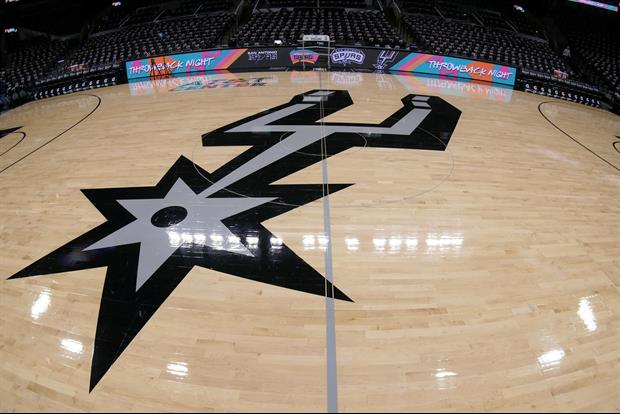 Kicks & Punches Were Flying In The Upper Deck During The Spurs Vs. Rockets Game