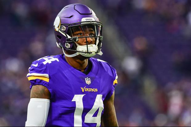 Vikings WR Stefon Diggs Is Wearing Popeyes Chicken Sandwich Cleats