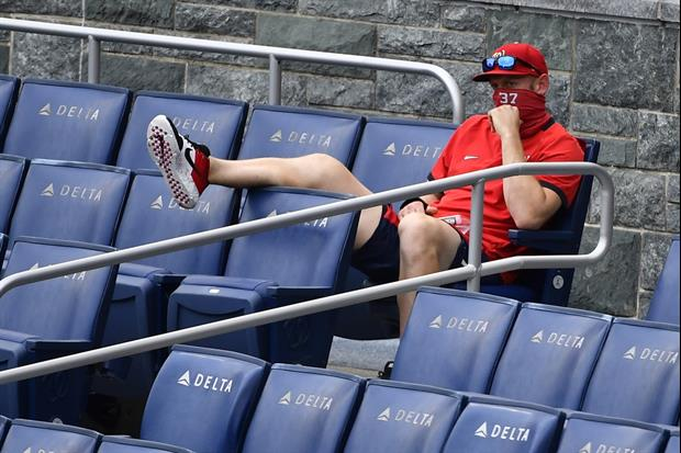 Ump Ejects Nationals Pitcher Stephen Strasburg From His Seat in the Stands