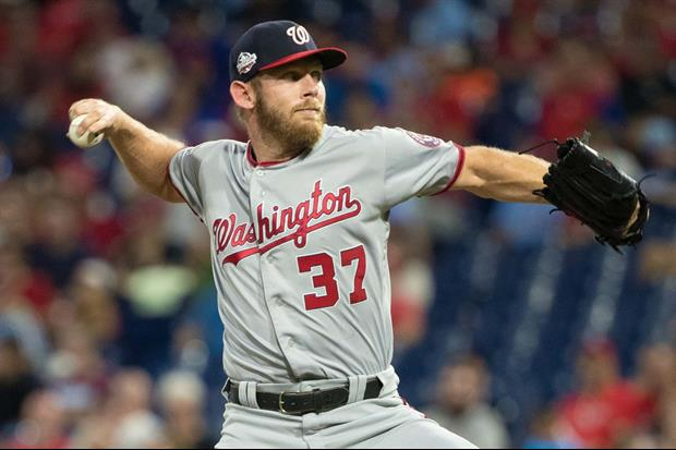 Nationals' Stephen Strasburg Hits Batter, Catcher & Umpire With The Same Pitch