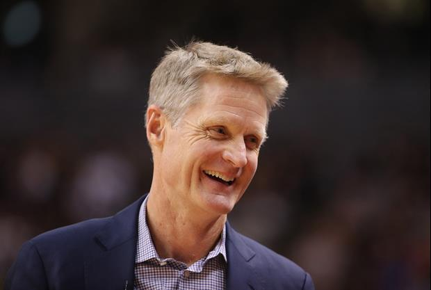 Steve Kerr Trolled Anthony Davis And His 'That's All, Folks' Shirt