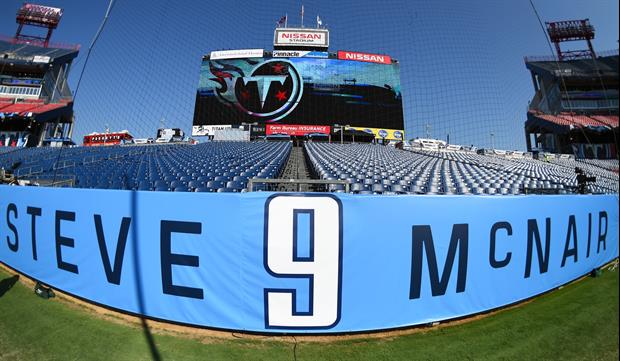 Crazy Cloud Shaped '9' Appears In Sky Over Steve McNair Number Retirement Ceremony