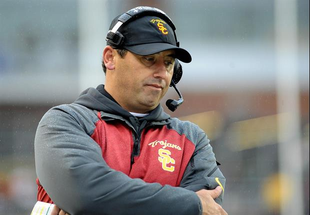 USC Coach Steve Sarkisian Showed Up To Team Meeting 'Not sober'
