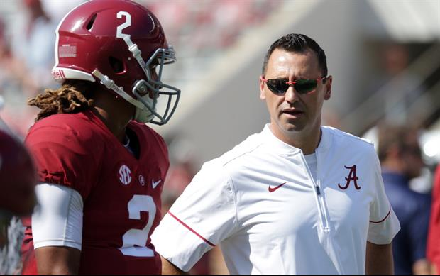 offensive coordinator Steve Sarkisian Says He's 'Fired Up' To Return To Alabama