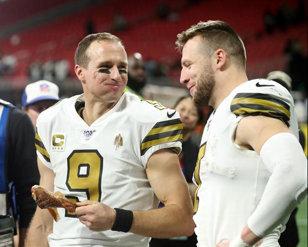 Taysom Hill Reacts To Drew Brees' Returning To Saints For 2020 Season