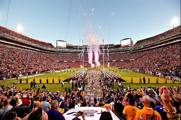 LSU vs Ole Miss was ESPN's most viewed game of the season.