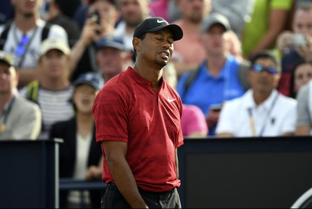 here u0026 39 s fan yelling during tiger wood u2019s backswing during final push at the open