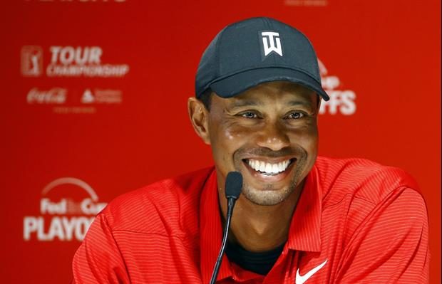 Tiger Woods' Son Charlie Woods Hits Incredible Shot, Eagles The Hole....................