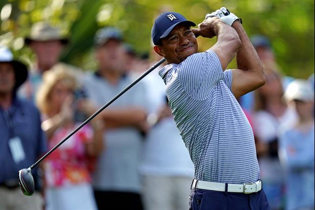 This Is What A Tiger Woods' Quadruple Bogey On #17 At The Player's Championship Looks Like
