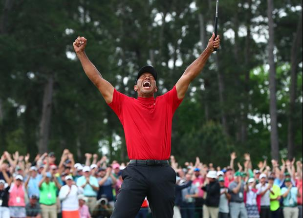 Dude Bets His Wife If Tiger Won Masters They'd Name Kid 'Tiger,' Makes Her Sign Contract