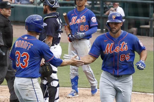 Mets' Tim Tebow Went Yard At Spring Training Today