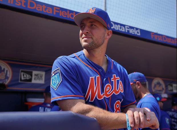 Tim Tebow Hits His First AAA Home Run Then Gets Silent Treatment From The Dugout