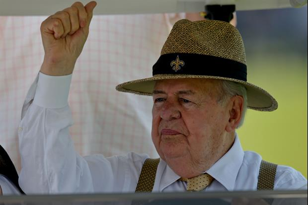 Tom Benson has donated $11 million to the Pro Football Hall of Fame.