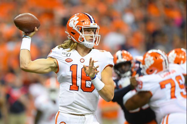 Clemson QB Trevor Lawrence Has Tested Positive For COVID-19