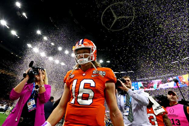 Girlfriend Of Clemson QB Trevor Lawrence Posted This Message After Title Loss