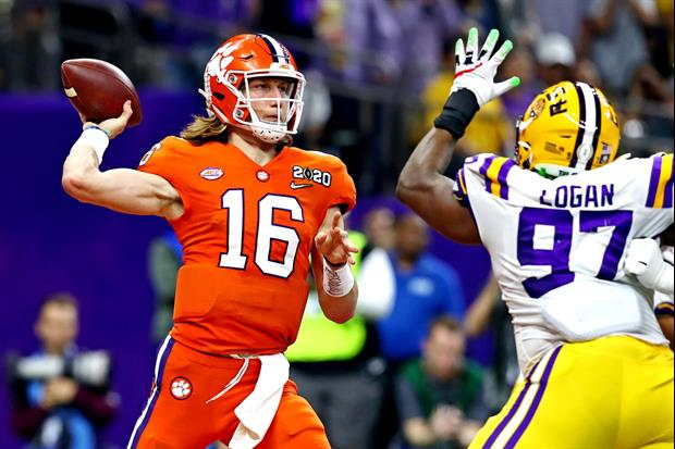 Clemson QB Trevor Lawrence Posted This Message About His 2019 Season