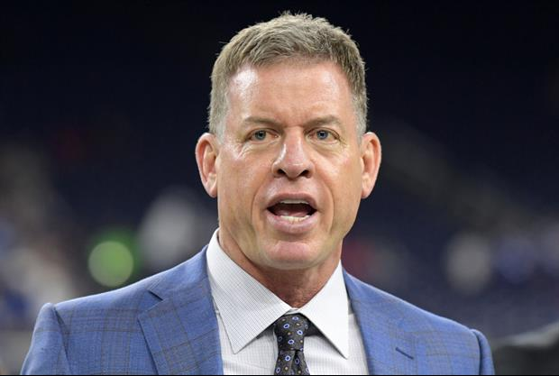 Watch Troy Aikman's Emotional Reaction To Jimmy Johnson Getting Into Hall Of Fame