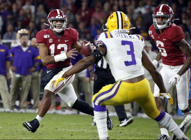 Here's What Alabama QB Tua Tagovailoa Posted On Instagram After LSU Loss