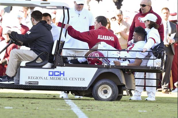 Oklahoma QB Jalen Hurts Shares Thoughts On Tua Tagovailoa's Injury
