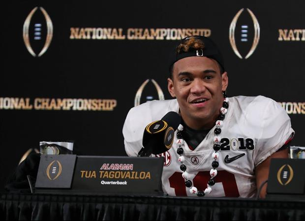 Lane Kiffin Said If Tua Tagovailoa Didn't Play In Title Game He Would've Definitely Transferred