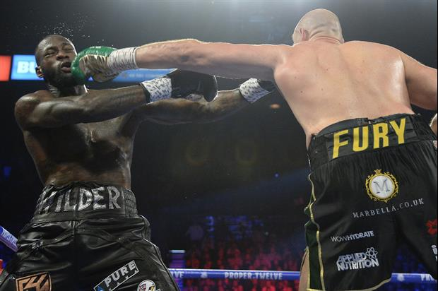 Tyson Fury Dominates Deontay Wilder, Wins By TKO In 7th Round