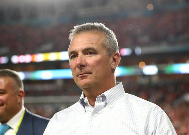 Urban Meyer is meeting with the Jacksonville Jaguars today about their head coaching vacancy..