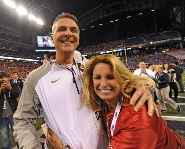 Urban Meyer's Wife Has Some Opinions About An Old Nick Saban Clip That's Resurfaced