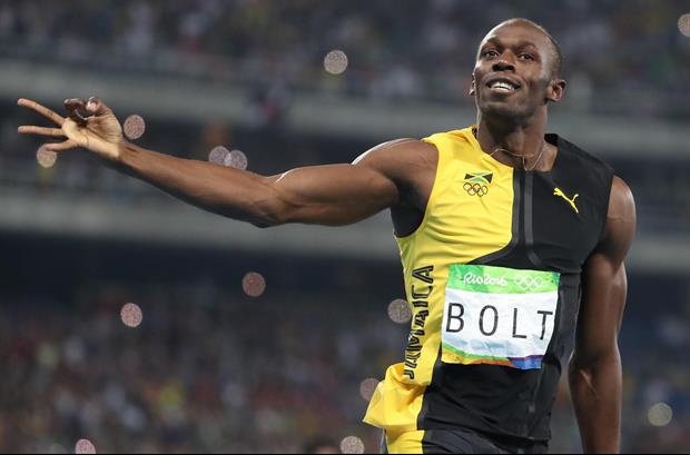 Usain Bolt's Name For His Baby Daughter Is Fantastic...Olympia Lightening Bolt