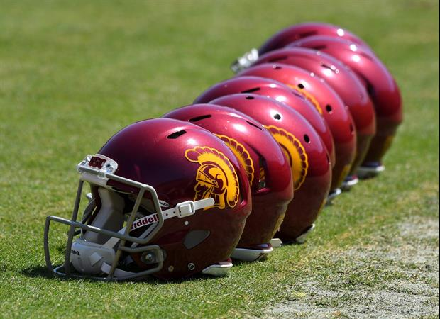 Dude Snuck Into USC's Football Facility, Got To Practice Field & Participated In Drills