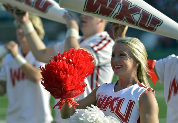 Local Kentucky Weather Man Jude Redfield Acts A Fool In Front Of Western Kentucky Cheerleaders
