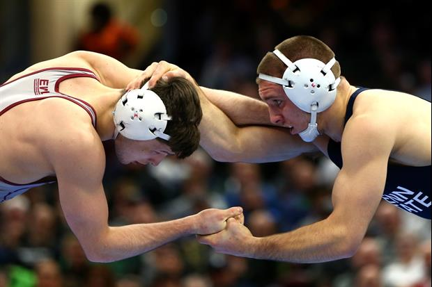 I Wouldn't Be Too Scared To Take On This High School Wrestling Team...