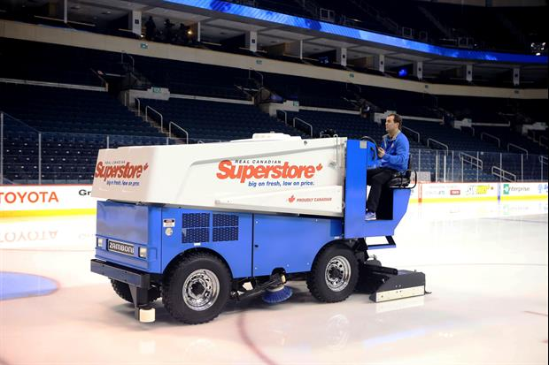 A rare Zamboni fire happened on Wednesday night at Bill Gray's Regional Iceplex, located on the Monr